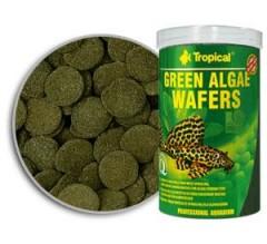 Tropical Professional Line Green Algae Wafers 100ml/45gr - cialde vegetali affondanti per organismi alghivori; con spirulina