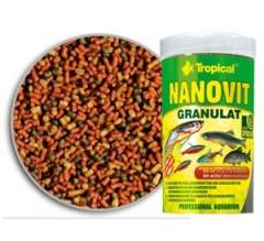 Tropical Premium Line Nanovit Gran 100ml/70gr - mangime di base per pesci piccoli e avannotti accresciuti