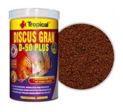 Tropical Professional Line Discus Gran D-50 Plus 100ml/38gr - New Formula mangime granulare con astaxantina che intensifica i colori dei Discus