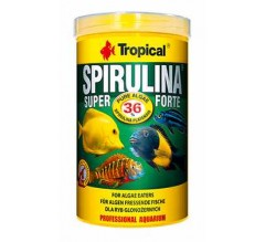 Tropical Professional Line Super Spirulina Forte Flakes 250ml/50gr - mangime vegetale in scaglie, con elevato contenuto in spirulina (36%)